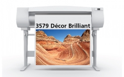 "Décor Brilliant Matte Canvas 24"" x 40' Roll"