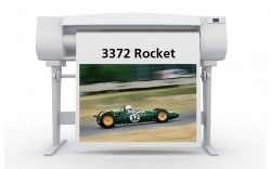 "Rocket Satin Photo Paper 8mil 36"" x 100' Roll"