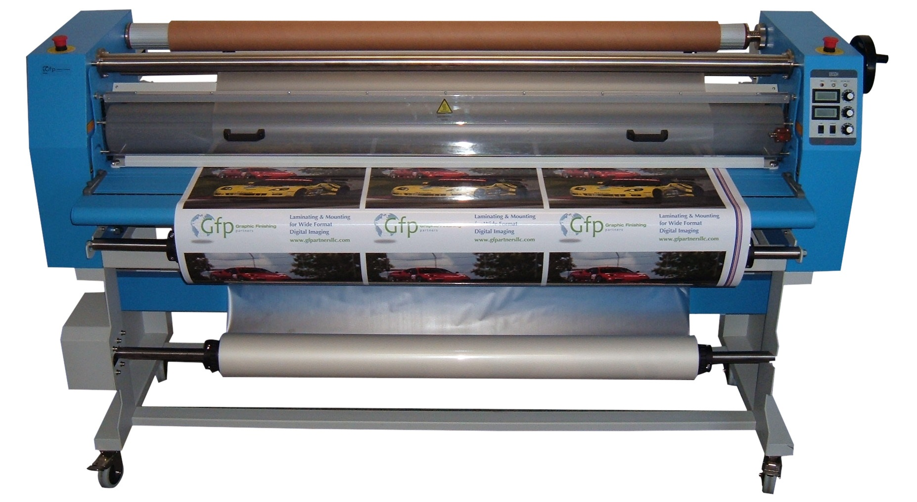 "847DH 47"" Dual Heat Laminator with Stand ,Install & Training"