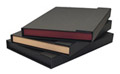 "Accent Portfolios - Maroon Tray, Black Cover 9""x12""x3"""