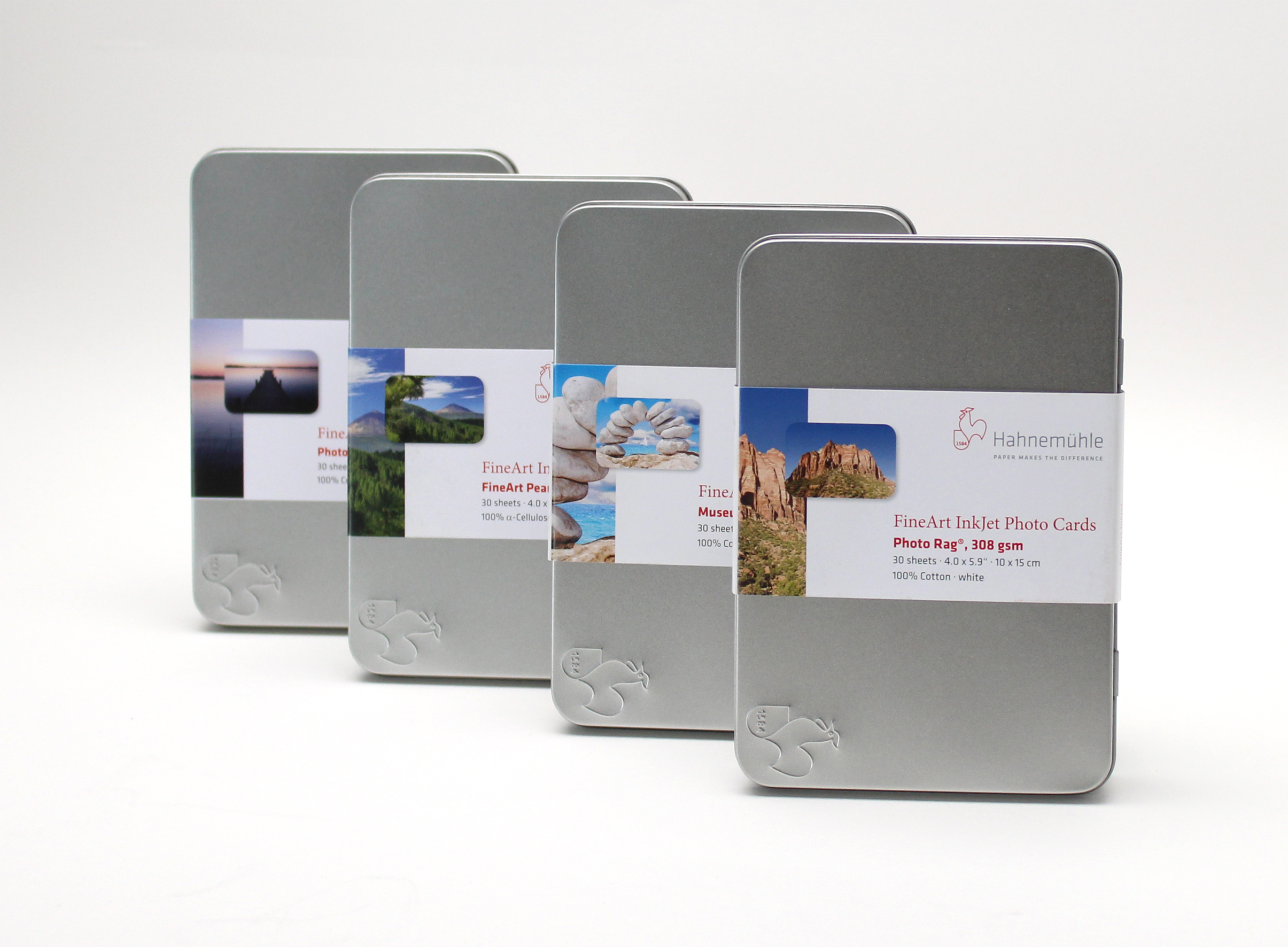 Hahnemühle Fine Art Inkjet Photo Cards - Fine Art Pearl