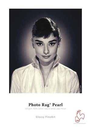 "Photo Rag® Pearl 320gsm, 8.5""x11"" 5 sheets"