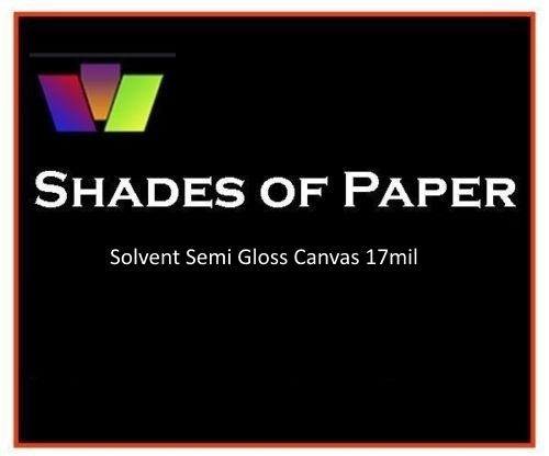 "SOP Semi Gloss Solvent Canvas 54"" x 50'"