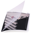 "Side Lock Film Sleeves 2.25"" Polyester - 10.0625""x2.5"" - 50 Pack"