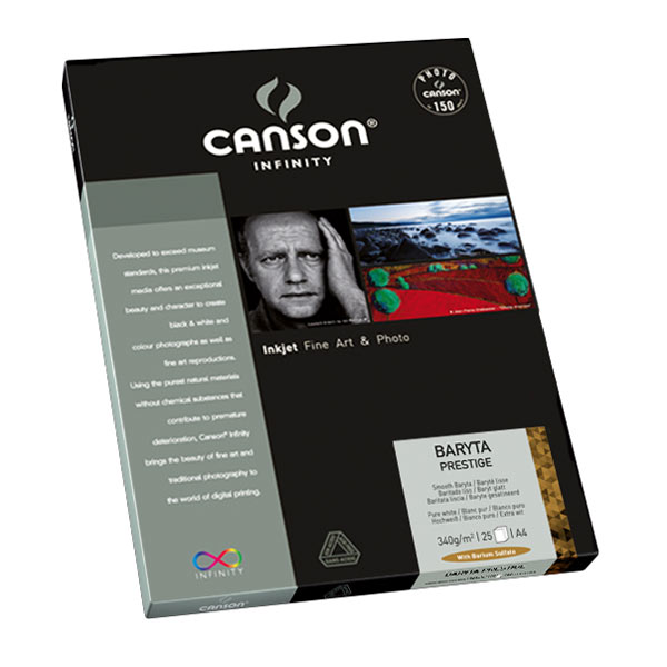 "Canson Infinity Baryta Prestige 340gsm 8.5"" x 11"" - 25 Sheets"