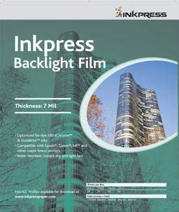Inkpress Backlight Film