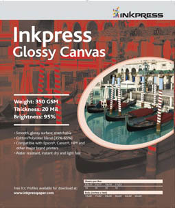 Inkpress Glossy Canvas