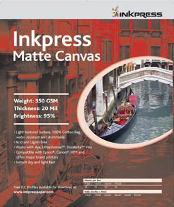 Inkpress Matte Canvas