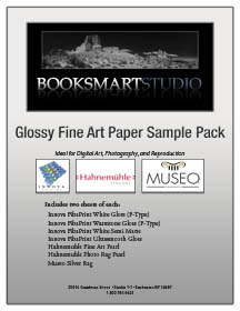 Glossy Fiber Paper Sample Pack - Canson, Hahnemühle, Innova