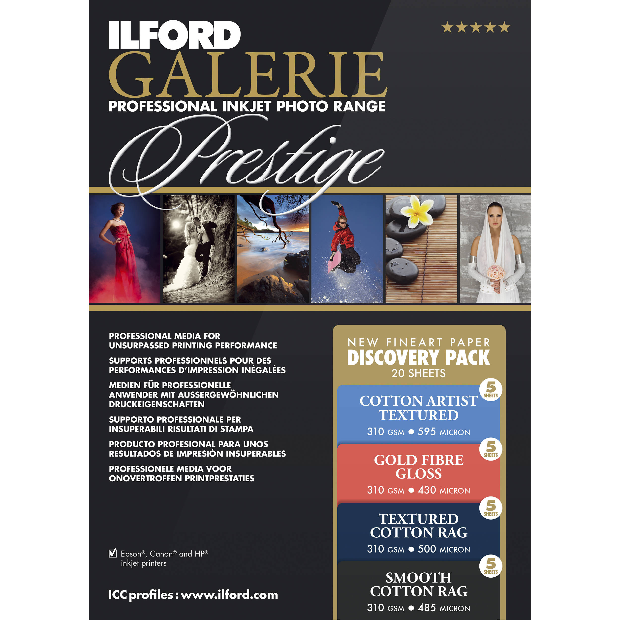 Ilford Fine Art Paper Discovery Pack