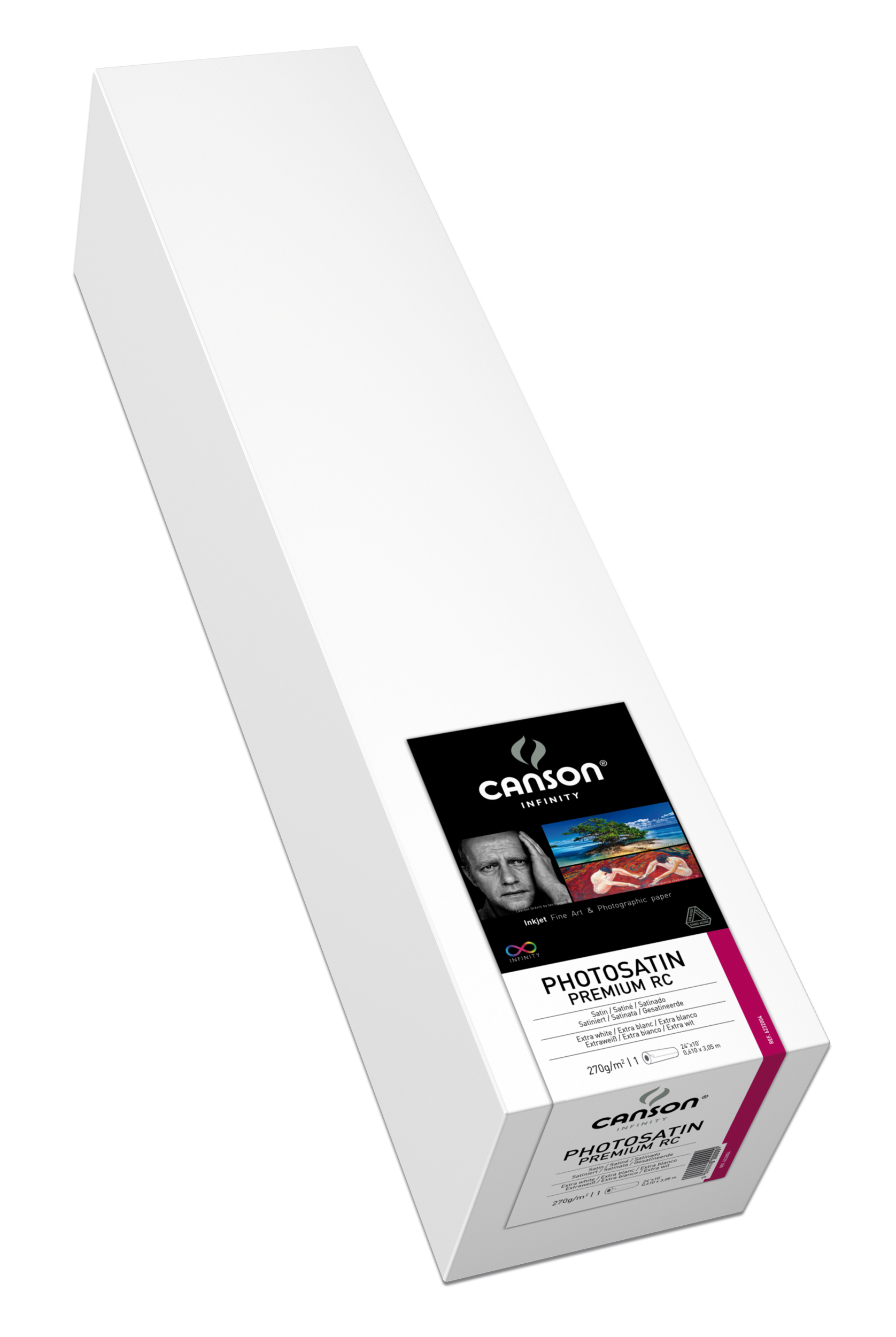 "Canson PhotoSatin Premium RC 270gsm 17"" x 100' Roll"